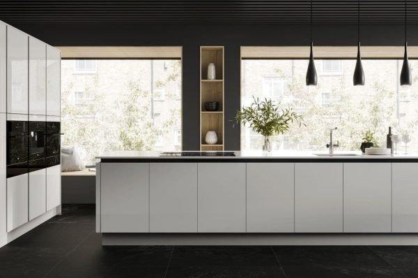 Linear Ice kitchen by Symphony