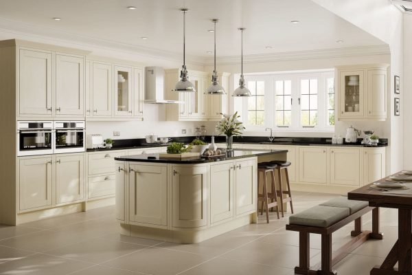 New England kitchen from Gallery range by Symphony